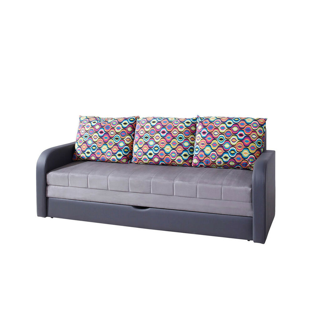 jugendcouch sofa boise bettsofa kindersofa schlafcouch bettfunktion jugendsofa ebay. Black Bedroom Furniture Sets. Home Design Ideas