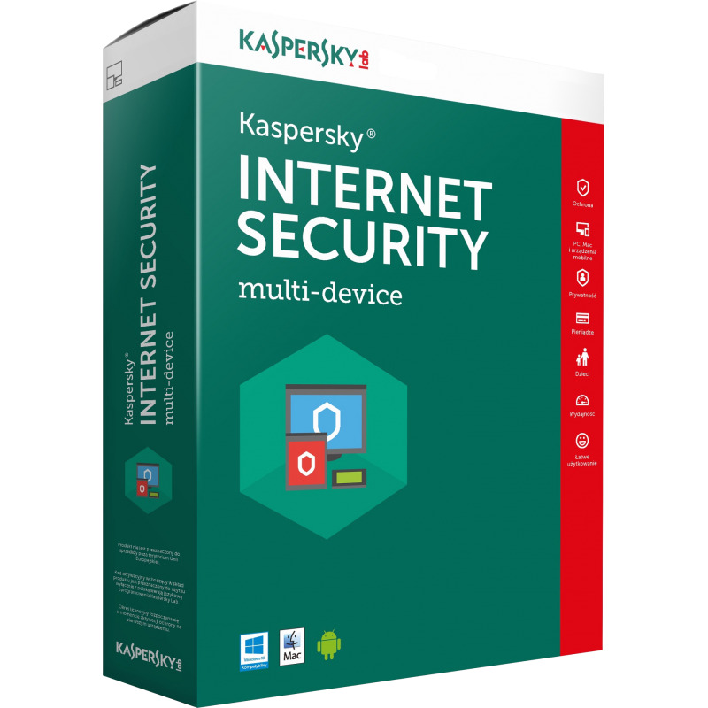 Kaspersky Internet Security 2019 3 devices 1 Year ...