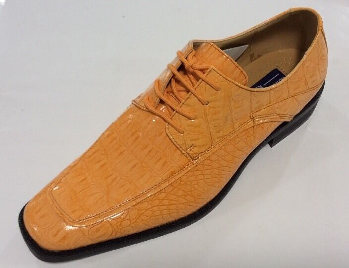 Brown Gator Dress Shoes