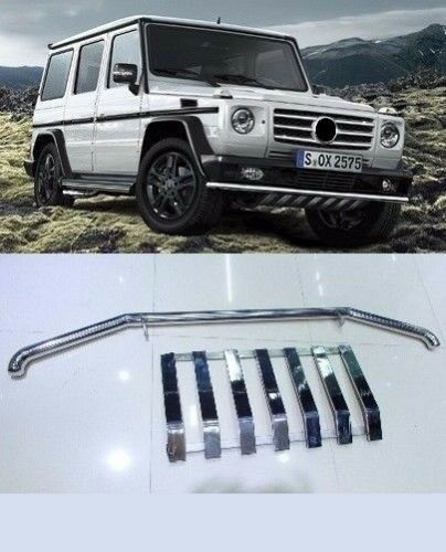 Mercedes benz w463 g class g500 g55 bumper lower grille for Mercedes benz g class accessories