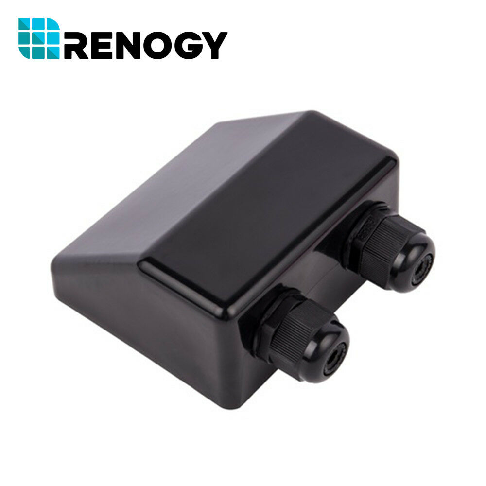 Renogy Abs Solar Panel Double Cable Entry Gland Housing Rv