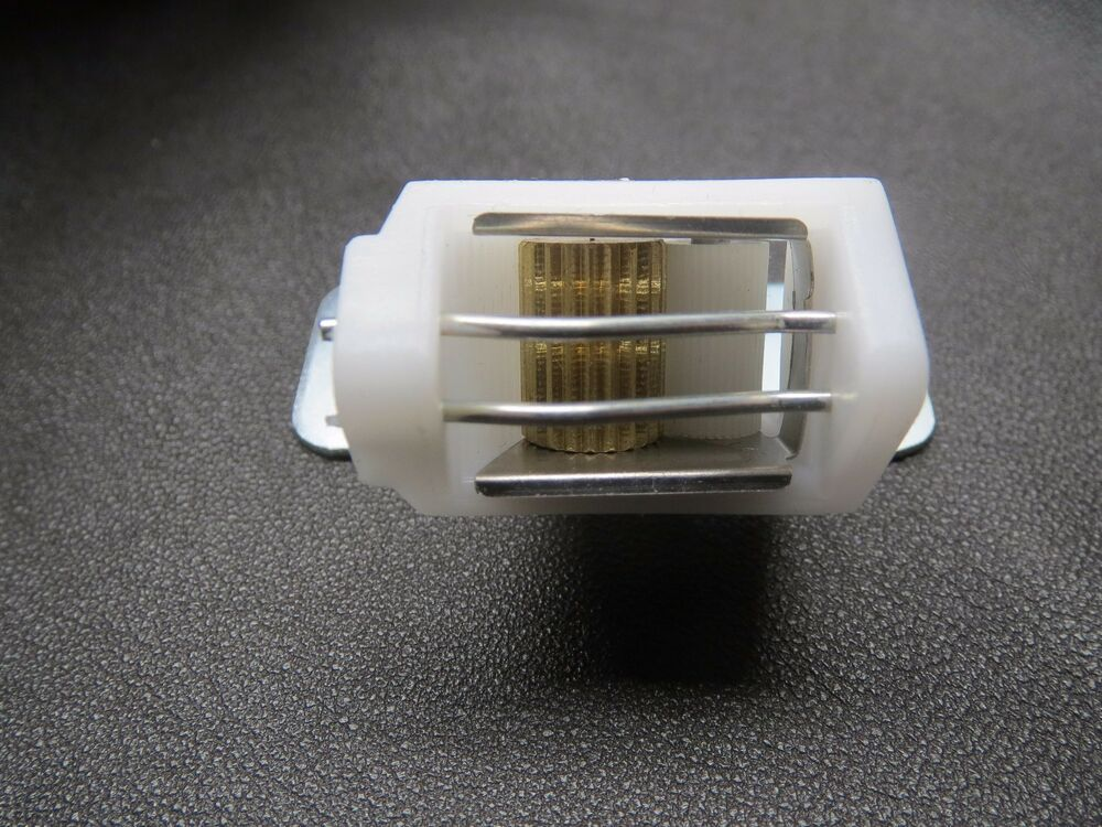 Rowley Roman Shade Cord Lock Small White 2 Wires 3 Slots