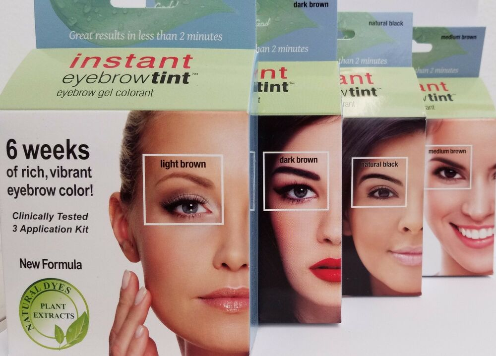 New Formula Godefroy Instant Eyebrow Tint 3 Applications Ebay
