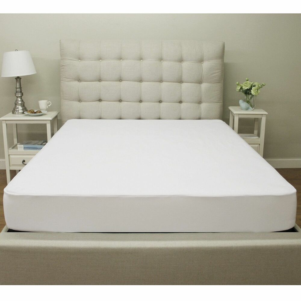 Cal King Size Waterproof Mattress Protector Bed Topper