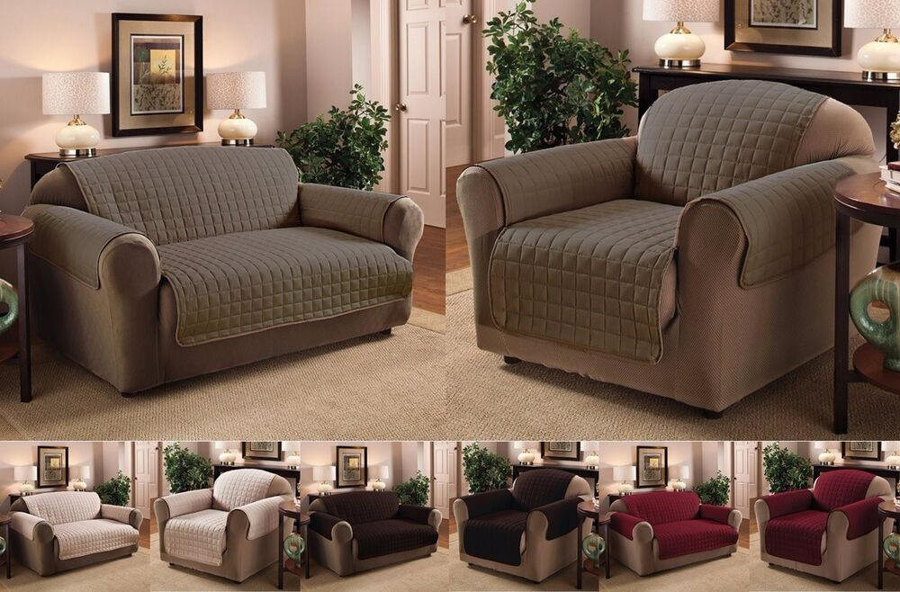 Luxury Quilted Sofa Loveseat Recliner Chair  : s l1000 from www.ebay.com size 1000 x 658 jpeg 122kB