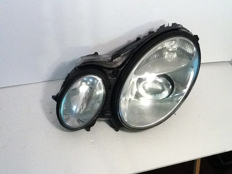 07 08 09 mercedes benz w211 e class lh driver xenon parts for Mercedes benz headlight bulb