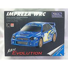 Nikko RC 1:24 subaru impreza WRC mini Evolution coche car radio modelismo
