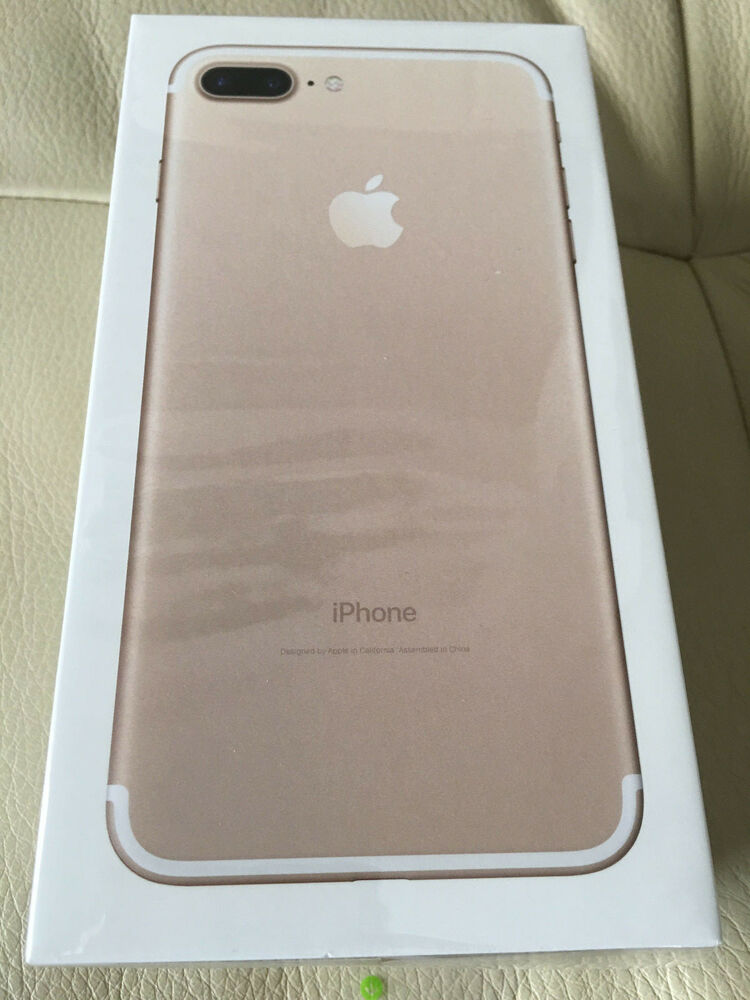 new sealed apple iphone 7 plus factory unlocked. Black Bedroom Furniture Sets. Home Design Ideas