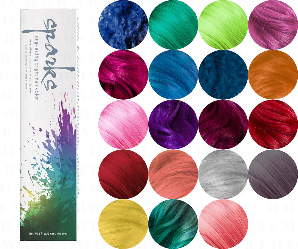 Sparks Longlasting Bright Hair Color Dyes Ebay Of 29