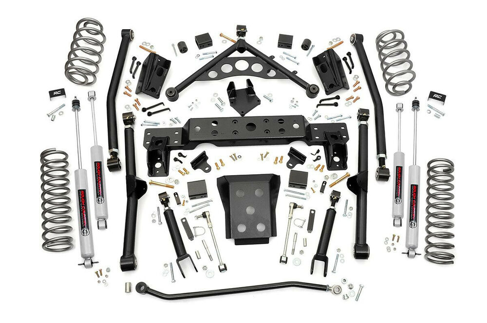 jeep grand cherokee wj 4 u201d long arm suspension lift kit