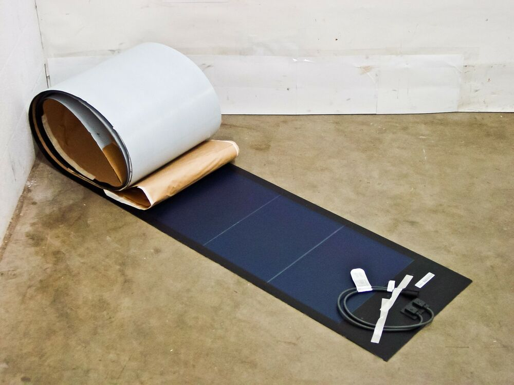 Peel Amp Stick 128 Watt Uni Solar Laminate Solar Panel