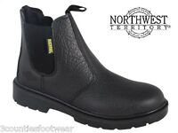 SAFETY DEALERS - STEEL TOE CAPS  - LEATHER WORK BOOTS size 7 8 9 10 11 12 13