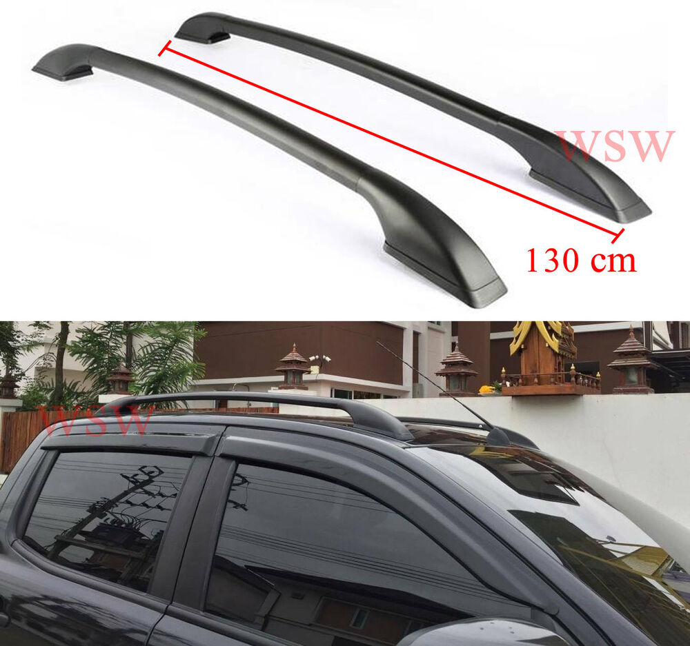 Black Roof Bar For Ford Ranger T6 Xlt Xl Px Wildtrak