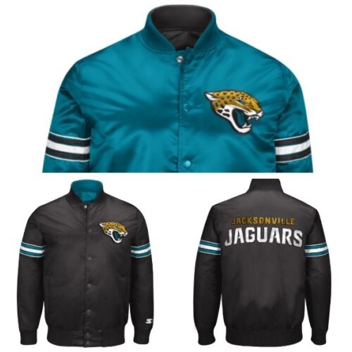 authentic-jacksonville-jaguars-reversible-starter-nfl-satin-jacket-black
