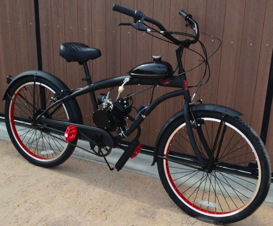 Motorized bike kit bike w engine custom extended frame Best frame for motorized bicycle