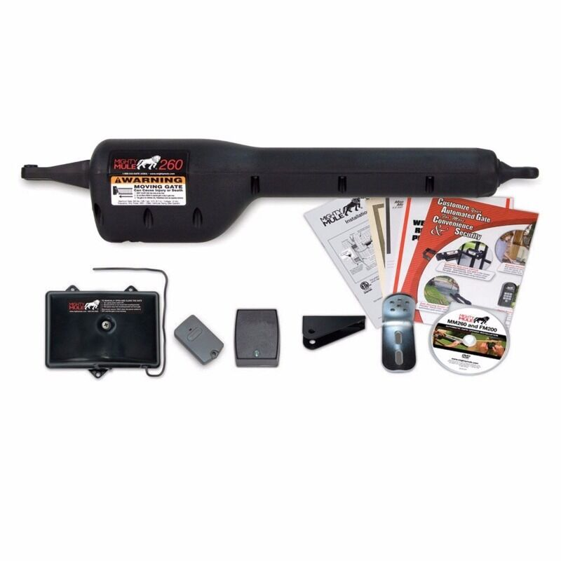 Mighty mule gto mm automatic single gate opener kit ebay