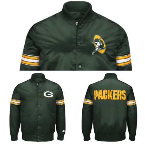 authentic-green-bay-packers-reversible-starter-nfl-satin-jacket-green
