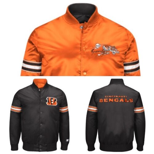 authentic-cincinatti-bengals-reversible-starter-nfl-satin-jacket-black