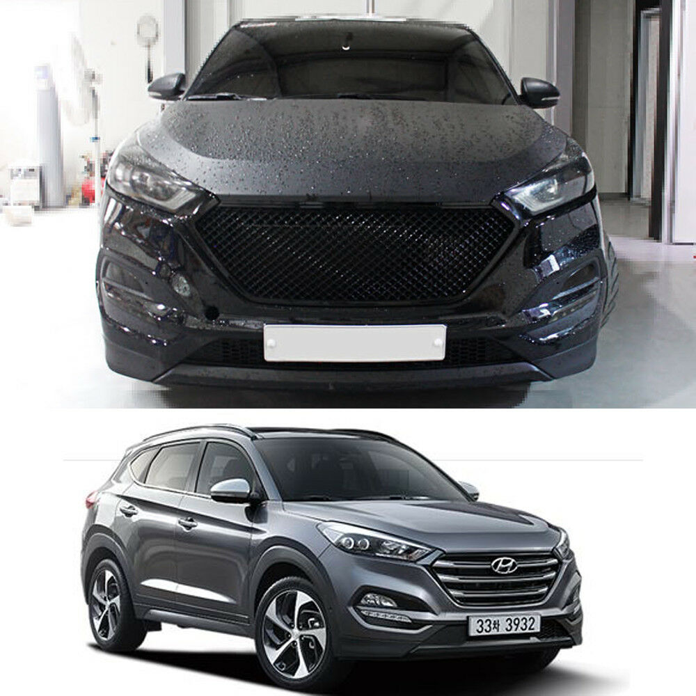 Black Front Radiator Grill For Hyundai All New Tucson Tl