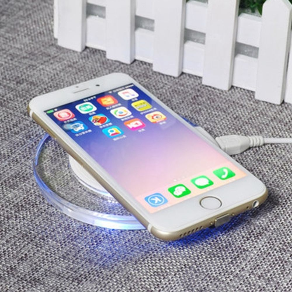 qi wireless charger charging pad mat dock receiver for. Black Bedroom Furniture Sets. Home Design Ideas