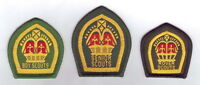 1940-60's UNITED KINGDOM Boy Scouts, Senior & Rover KING & QUEEN'S SCOUT Badge