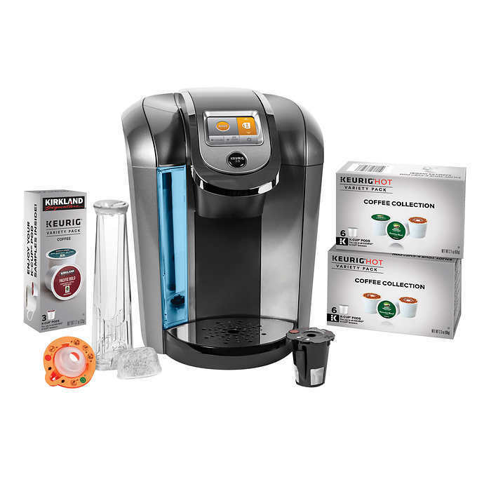 Keurig K525C Single Serve Coffee Maker, 15 K-Cup Pods and My K-Cup 2.0 Reusable eBay
