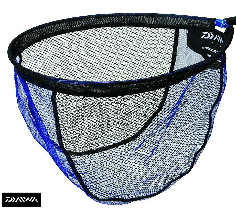 Daiwa pellet mesh rubber landing nets 45cm 50cm 55cm for Rubber fishing nets