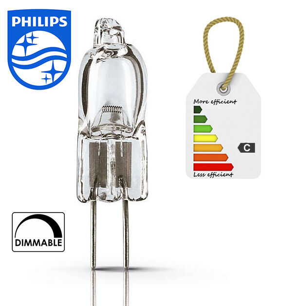 Philips Halogen Lamp Capsuleline Dimmable Lv 10w 20w Bulb