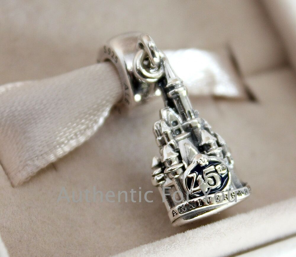 2016 disney magic kingdom 45th anniversary castle pandora for The sterling