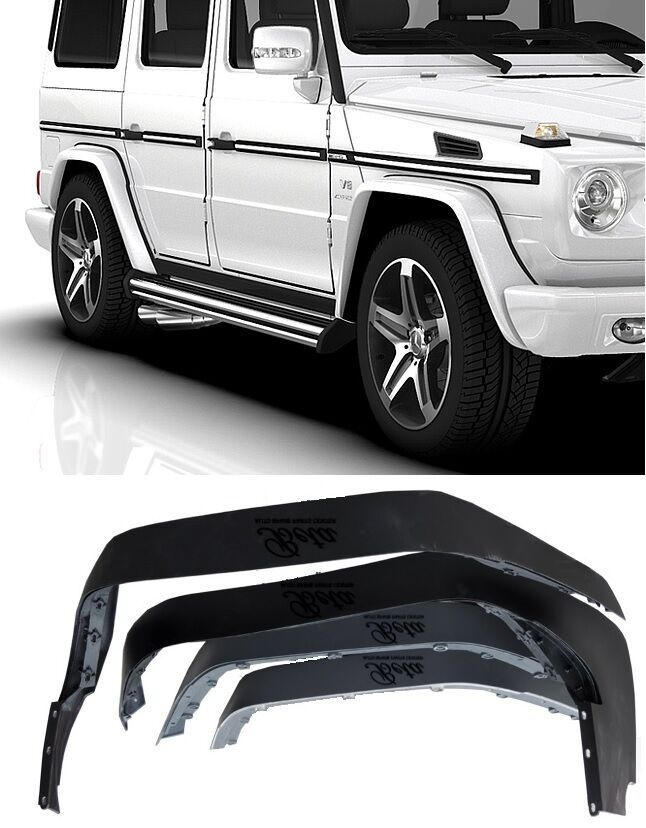 Mercedes benz w463 g class g55 fender flares wide ebay for Mercedes benz g class accessories