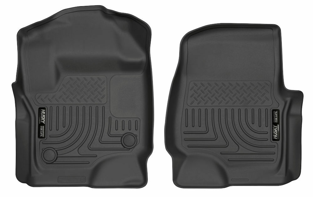 Husky Weatherbeater Front Floor Mats For 2017 Ford F250