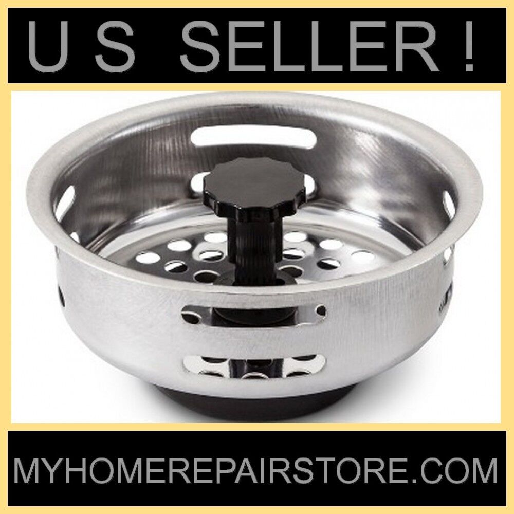 sink plugs kitchen us seller sunbeam stainless steel kitchen sink drain 2274