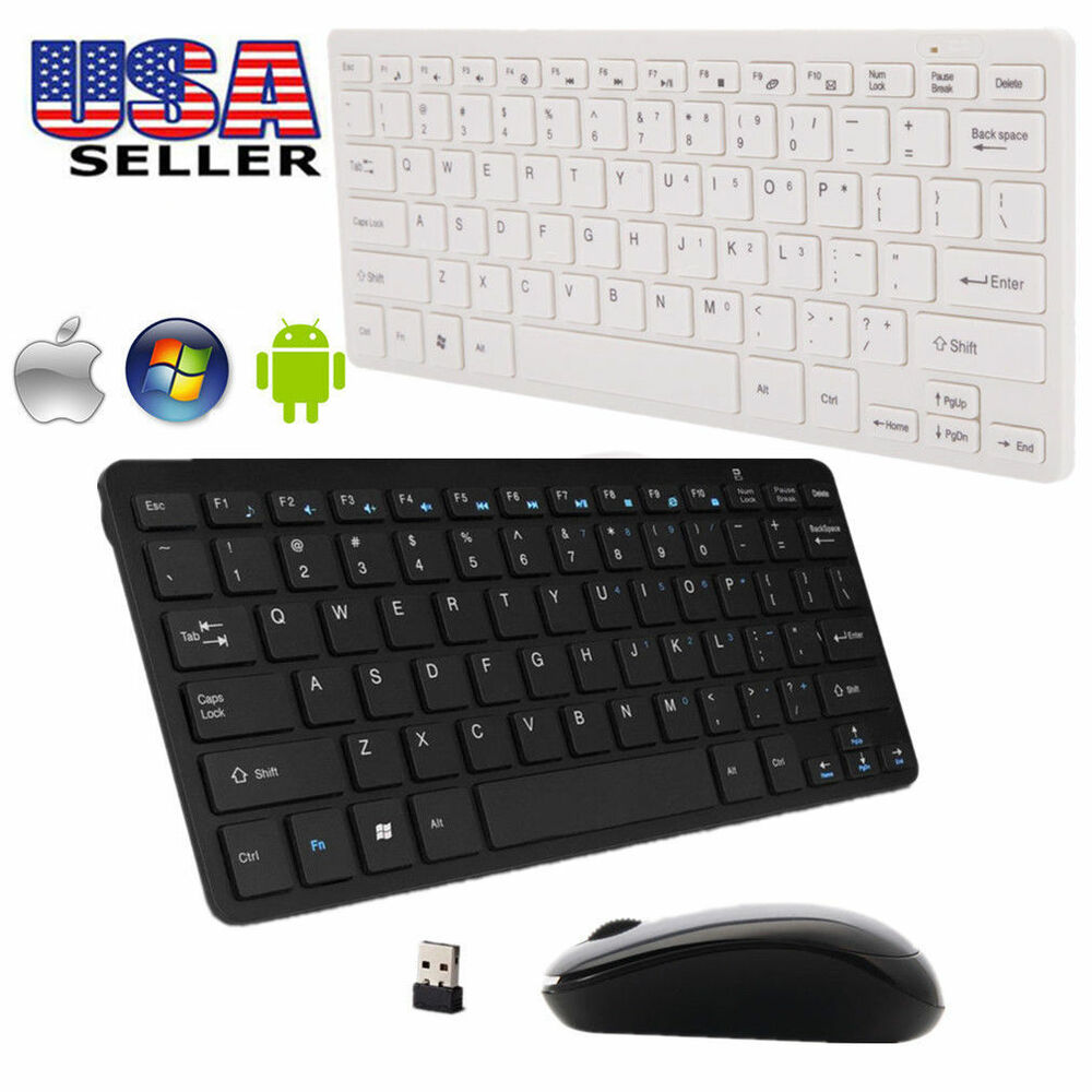 add 2 4g dpi wireless keyboard and optical mouse to your purchase for desktop pc ebay. Black Bedroom Furniture Sets. Home Design Ideas