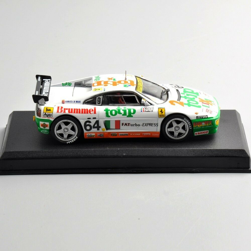 Diecast Model Racing Car 1 43 Ferrari 348 Gt Competizione