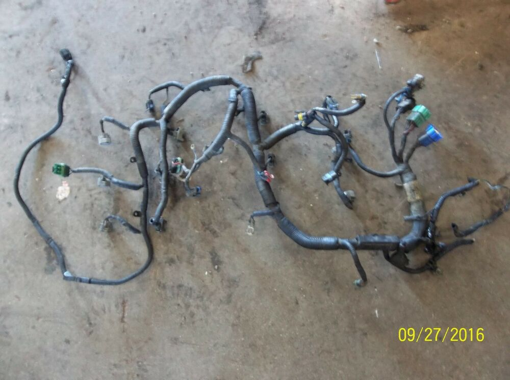 s l1000 isuzu trooper 3 2l engine wiring harness ebay  at eliteediting.co