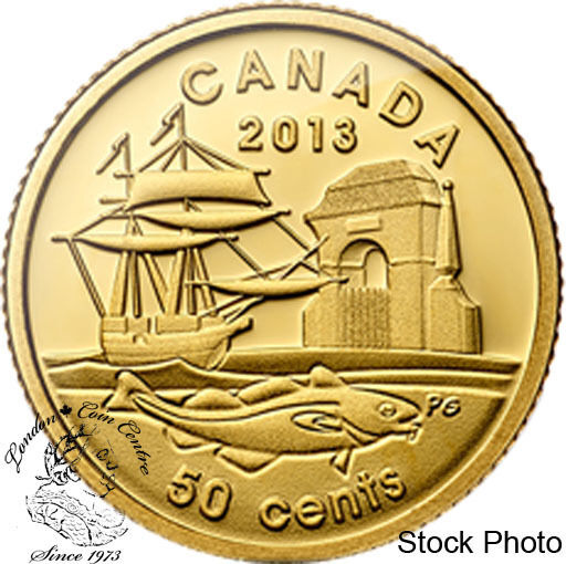Canada 2013 50 Cents 300th Anniversary Of Louisbourg 1 25