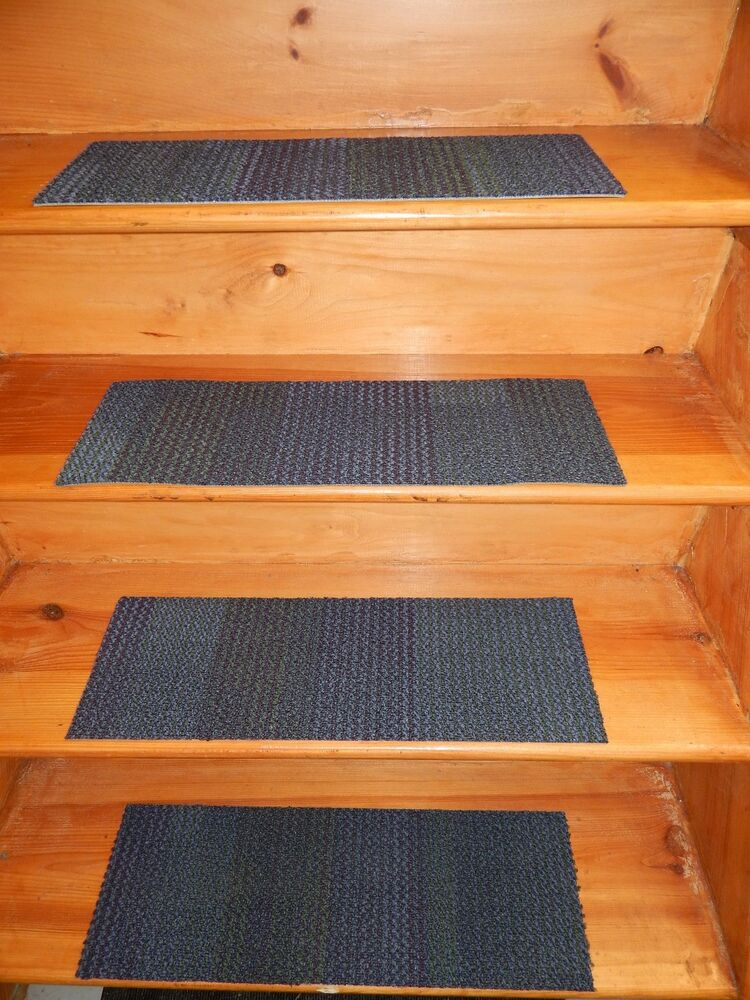 13 Step Indoor Stair Treads Staircase 8 Quot X 24 Quot Rug Carpet