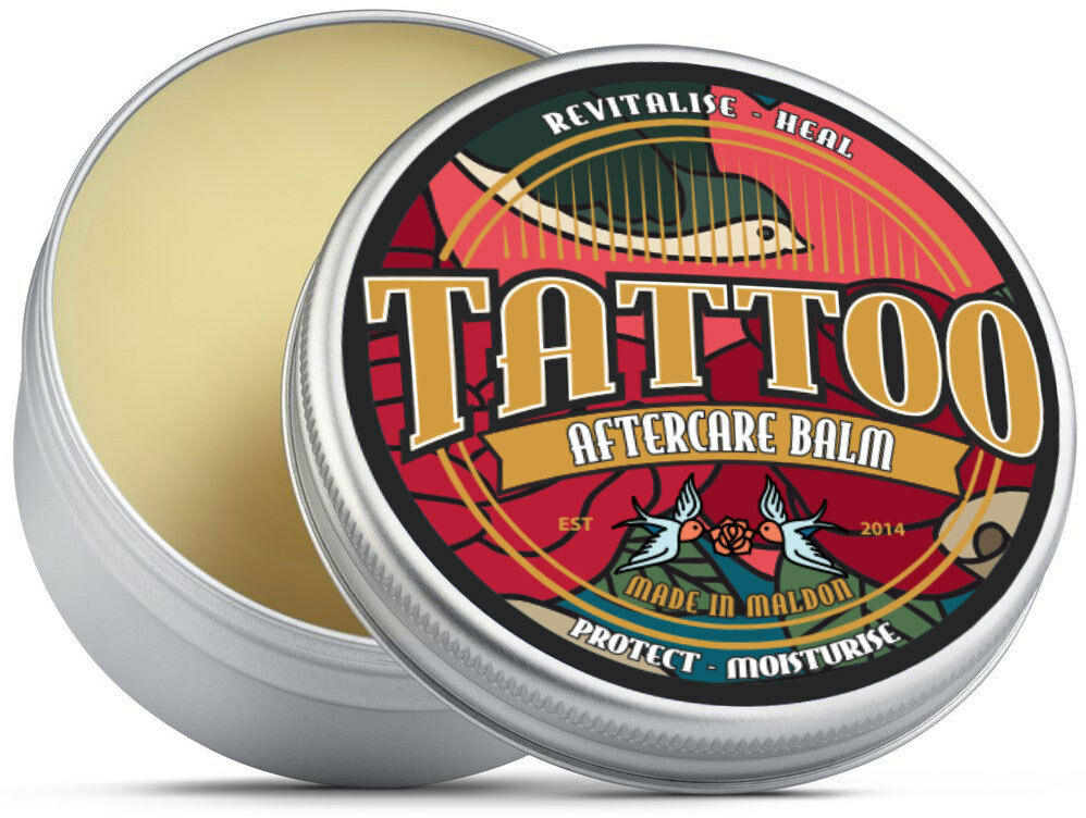 Premium tattoo aftercare balm shea butter teatree oil for Skinlock tattoo aftercare uk