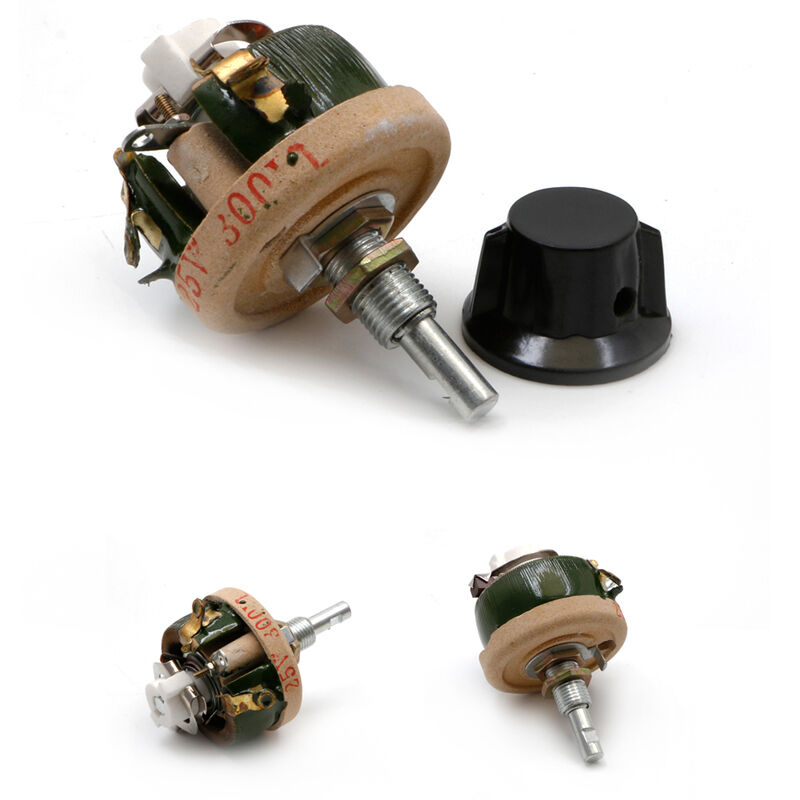 25w 100 ohm high power wirewound potentiometer rheostat. Black Bedroom Furniture Sets. Home Design Ideas