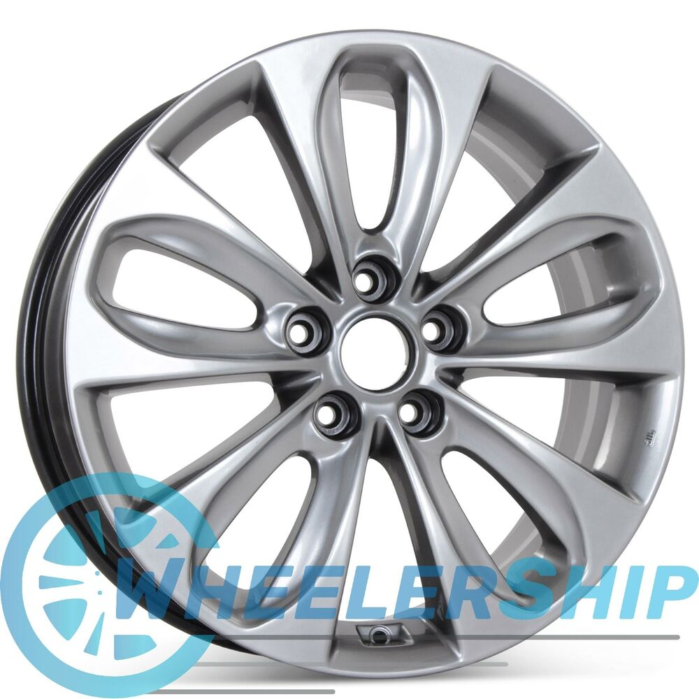New 18 Quot Alloy Replacement Wheel For Hyundai Sonata 2011