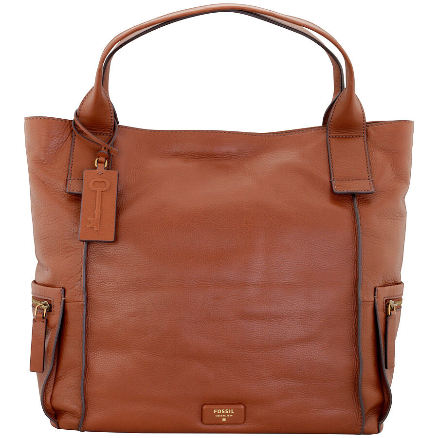 Innovative Womens Leather Handbags FOSSIL WOMEN BAG W ADRINA TOTE BROWN ZB5166200 Amazon.co.uk Shoes U0026 Bags