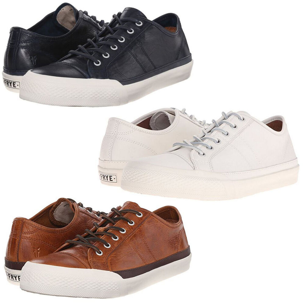 Frye Mens Greene Low Lace Up Casual Walking Sneakers