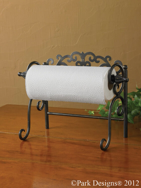 park designs sussex counter paper towel holder free shipping new ebay. Black Bedroom Furniture Sets. Home Design Ideas