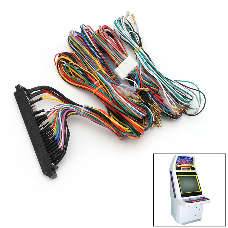 60 In 1 Arcade Jamma Board Machine Wiring Harness Harness