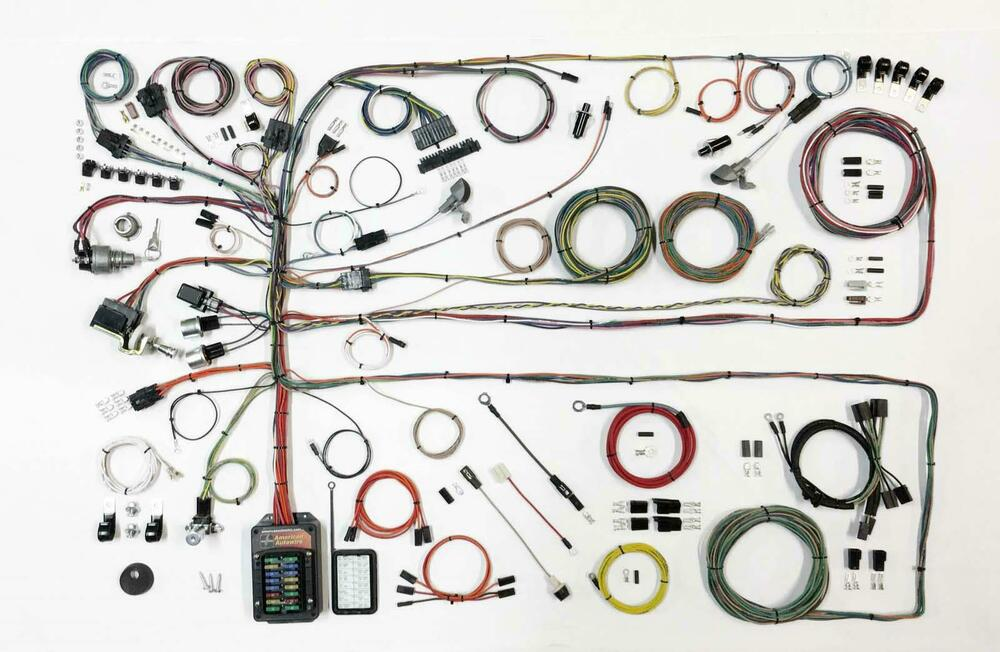 american auto wire 1957 1960 ford truck complete wiring. Black Bedroom Furniture Sets. Home Design Ideas
