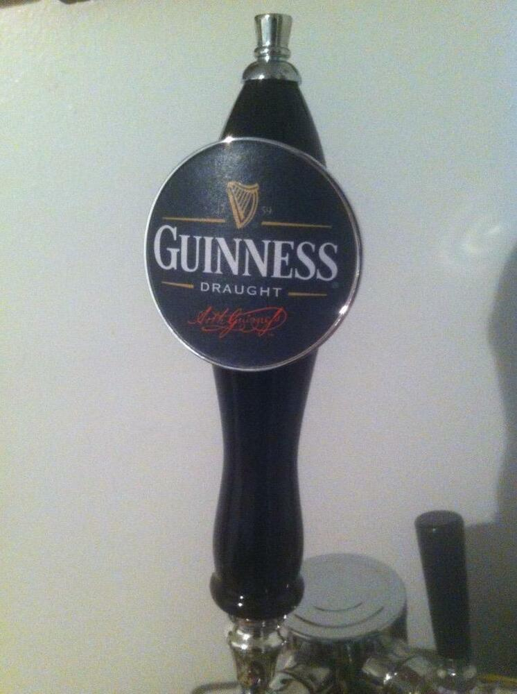 Brand New Never Used Pub Style Guinness Beer Tap Handle Ebay