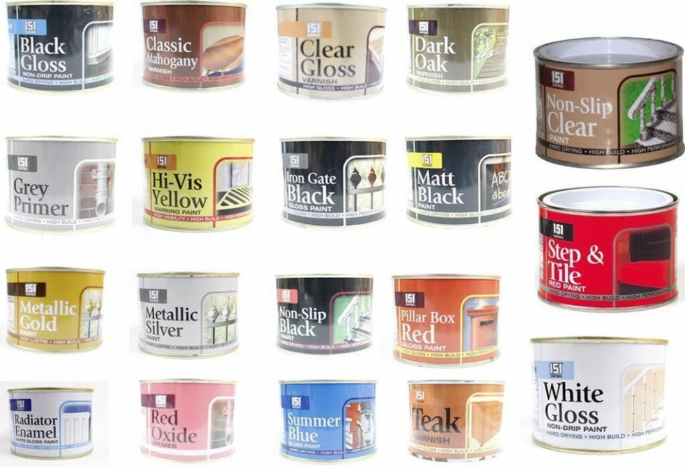 151 paint varnish coating tin exterior interior decoration wall tiles wood 180ml ebay - Waterproofing paint for exterior walls collection ...