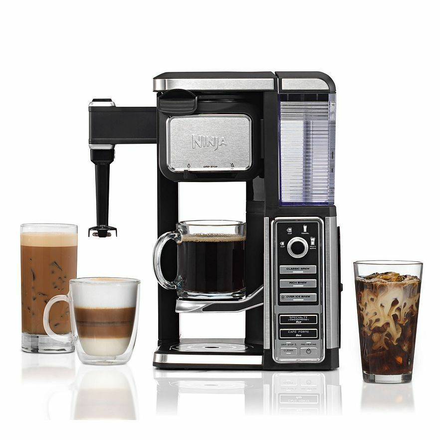 Ninja coffee bar single serve coffee bar system new New coffee machine
