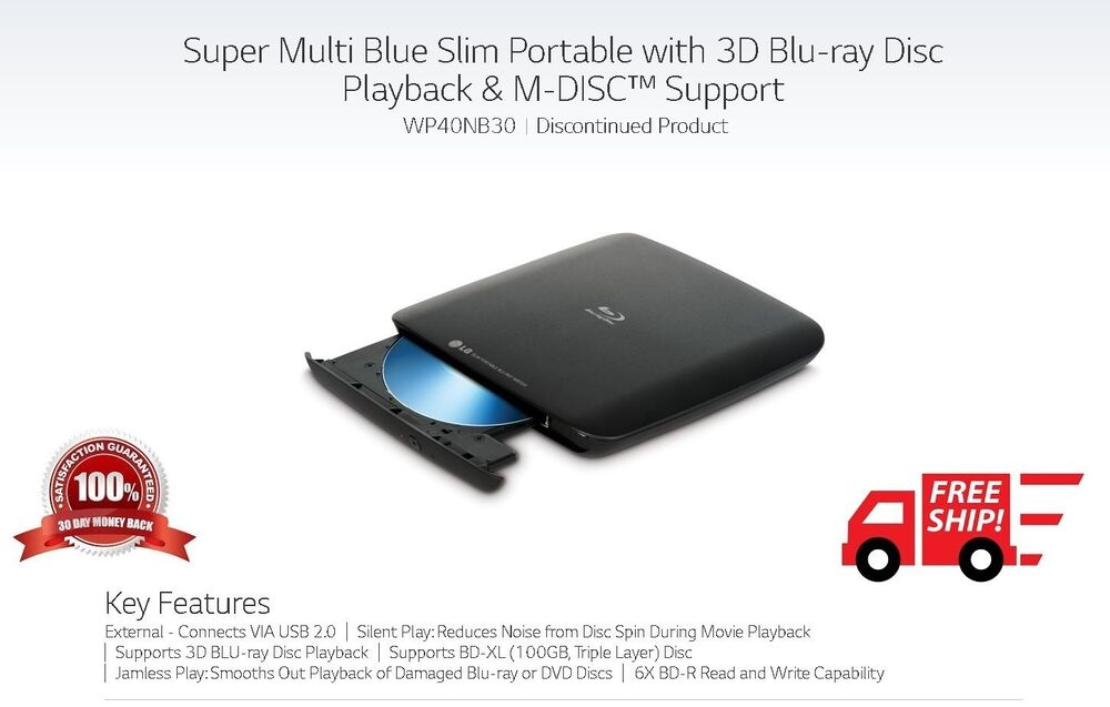 Slim dvd writer external