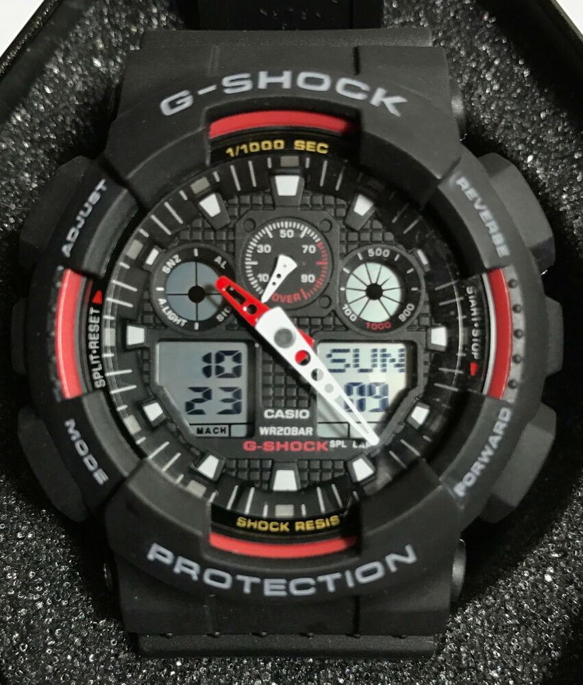 Casio Men's G-Shock GA100-1A4 Sport Watch BR | eBay